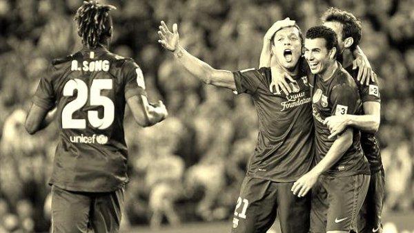 Fc Barcelone 1 - 0 Valence.