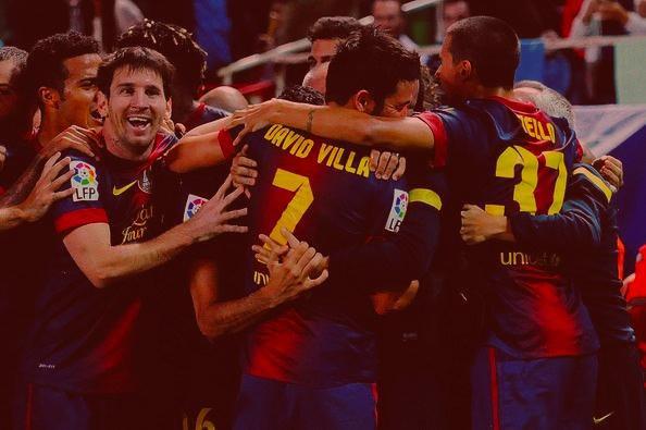Fc Séville 2 - 3 Fc Barcelone.