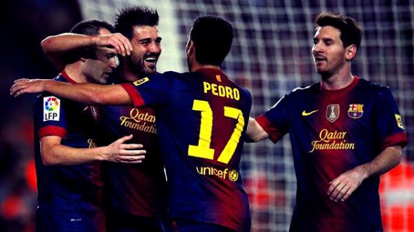 Fc Barcelone 3 - 1 Celta Vigo
