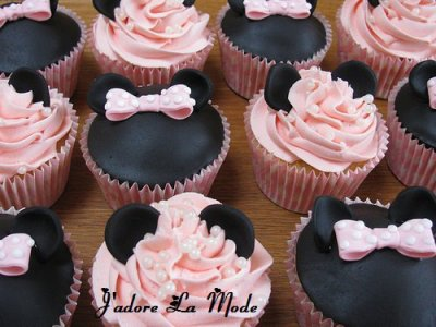 Cupcake Design For Man : les gateau mickey et minnie - swagg and mode