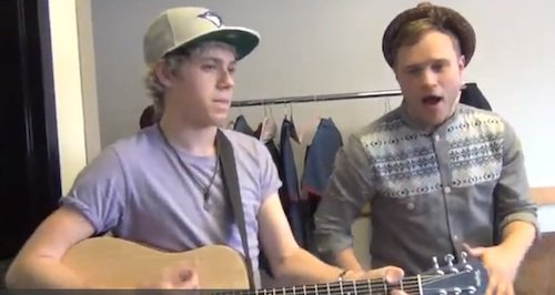 Heart Skips A Beat Acoustic Ft Niall Horan   (2012)