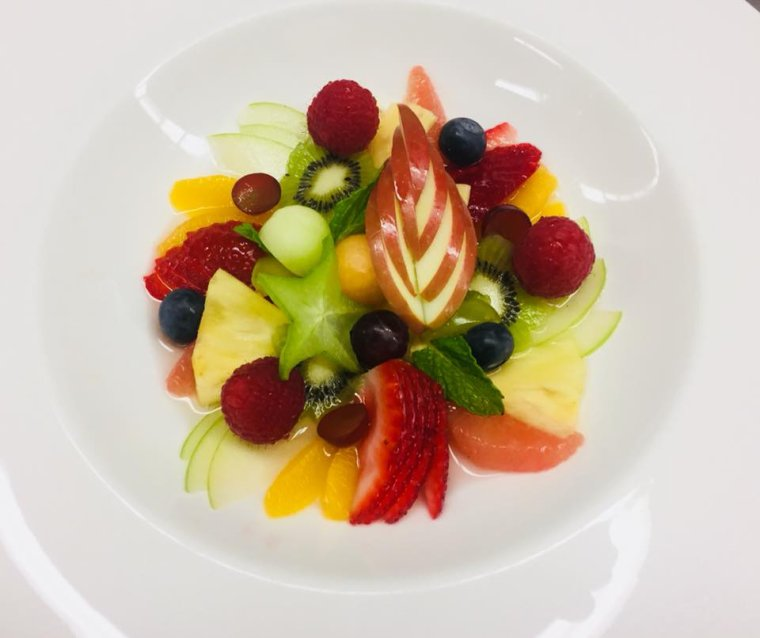 Assiette de fruit