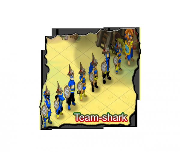 Team shark a la création !