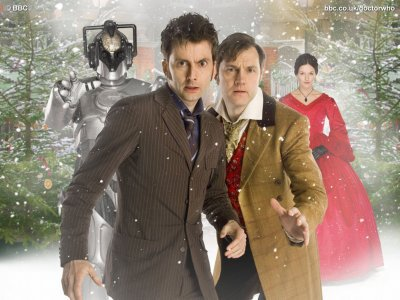 "Episode ""the next doctor"" sur france 4"