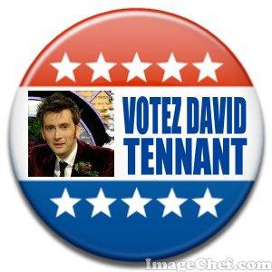 David au campagne présidentiel?