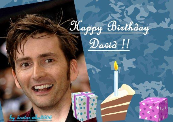 Bon Anniversaire david !!!!!