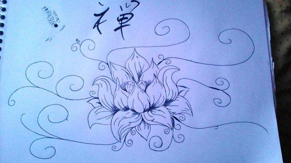 Dessin (lotus)