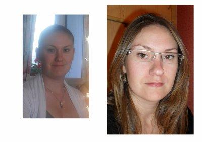 Moi au 26 juin 2011 et Moi au 30 aout 2011:::::::::AVANT/ APRES