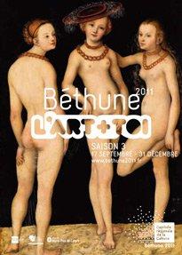 Les trois grâces de Cranach à Béthune
