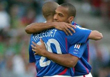Thierry Henry & David Trezeguet