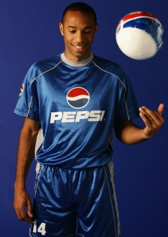 Thierry Henry et Pespi