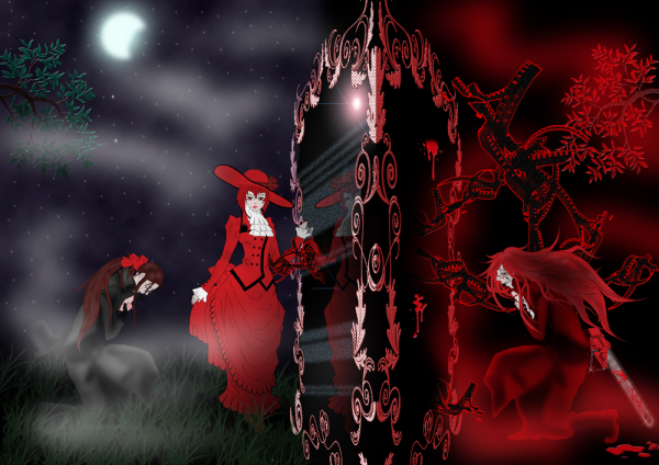 madame red et grell
