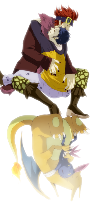 eustass captain kidd et trafalar law en pokémon