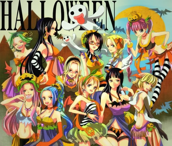 halloween dans one piece