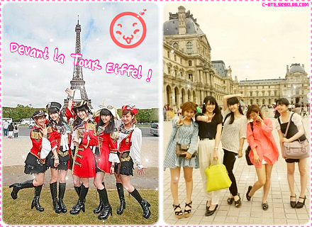 ". ஐ Article 06 : Derniers aperçus des C-ute à Paris + Informations & covers du 1er single des units du SATOUMI Movement + Making-of de ""Kanashiki Amefuri"" ஐ"