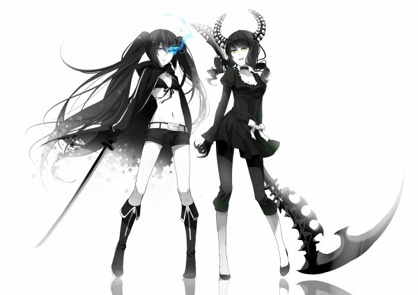black rock shooter la serie