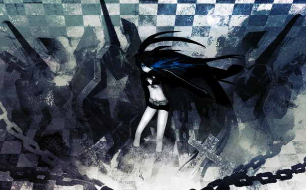 black rock shooter world