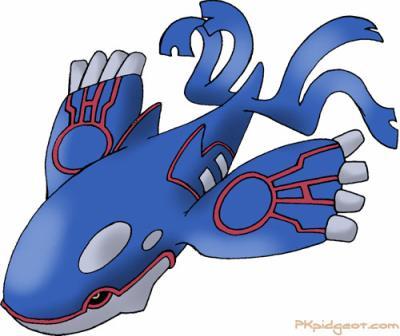 Kyogre pok mon - Pokemon baleine ...