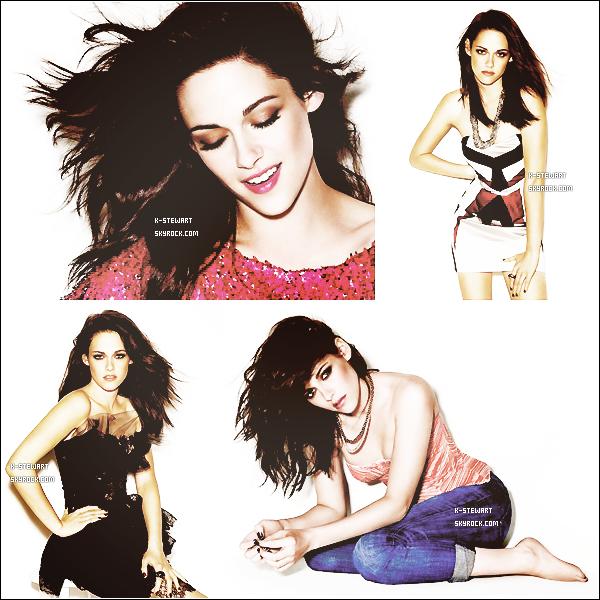-  (Re)Découvrez un photoshoot de Kristen pour Glamour datant d'Octobre 2011. -