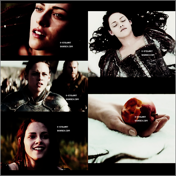 -  Voici des screen captures de Kristen dans Snow White And The Huntsmen. -
