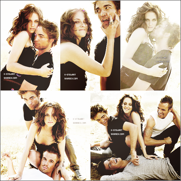 -  (Re)Découvrez un photoshoot du cast de Twilight pour Vanity Fair datant de 2008. -