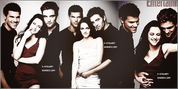 -  (Re)Découvrez un photoshoot de Kristen, Rob & Taylor pour Enternaiment Weekly. -
