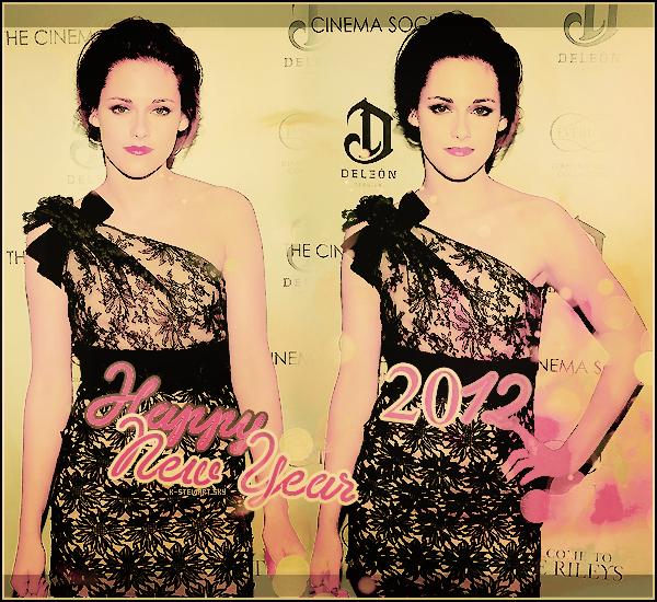 -   K-Stewart vous souhaite une bonne année 2012 ! -