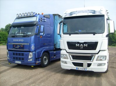 170.Volvo 500 VS M.A.N 480 - scania for Ever