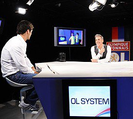 Rubrique :  VU Yoann Gourcuff invité dans l'OL System le 02/09