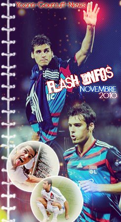 Flash-infos novembre 2010
