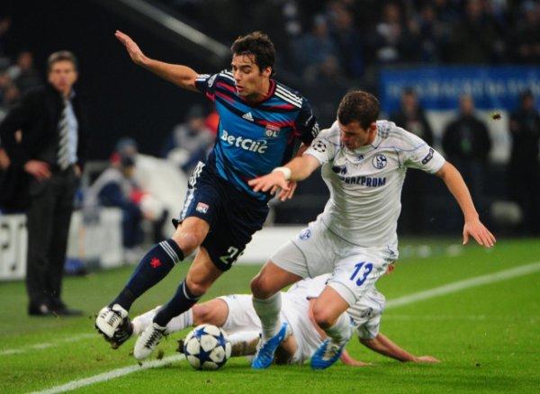 LDC 24/11/2010 Schalke 04 3-0 Lyon