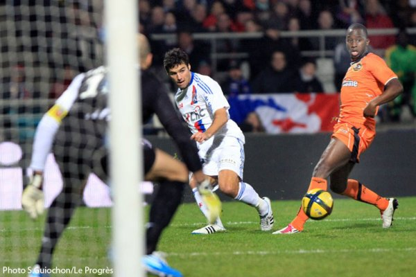 Ligue 1 15/01/2011 Lyon 3-0 Lorient