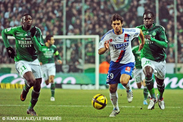 Ligue 1 12/02/2011 Saint-Etienne 1-4 Lyon
