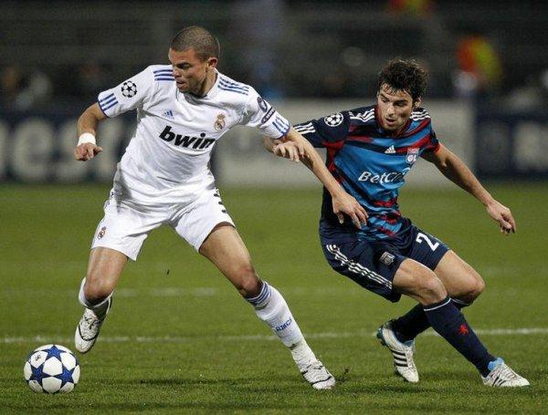 LDC 1/8 de finales 22/02/2011 Lyon 1-1 Real Madrid