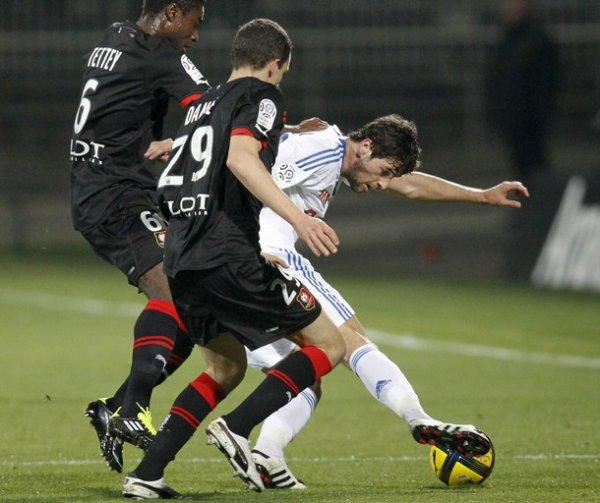 Ligue 1 19/03/2011 Lyon 1-1 Rennes