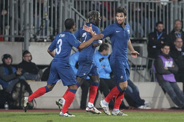 Equipe de France 25/03/2011 Luxembourg 0-2 France