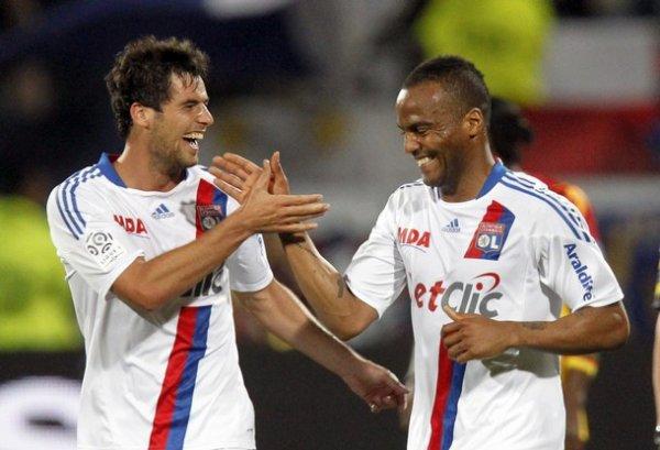Ligue 1 10/04/2011 Lyon 3-0 Lens