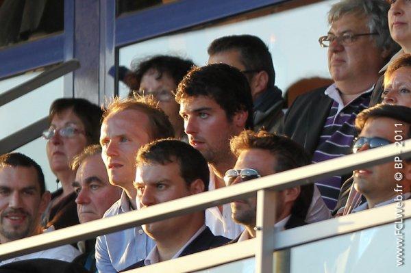Rubrique :  VU Yoann Gourcuff  au stade du Moustoir  le 15/05 pour assister à Lorient-Marseille