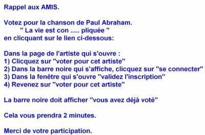 Concours Paul Abraham