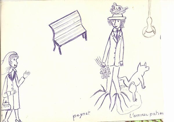 dessin de ma belle-mére 86 ans décédé 6 janvier 2011 ne pas prendre les dessins