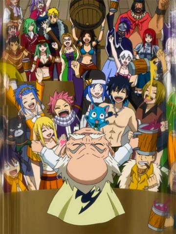 Manga - Fiche 1 : Fairy Tail