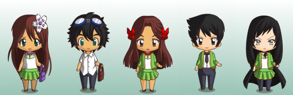 Bonus n°1 : Les personnages en chibis.