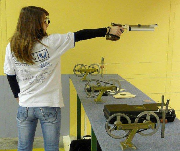 Championne de France 2012 de Tir au pistolet