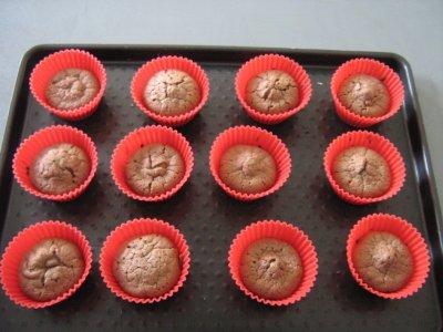 Dessert : Mini-Muffins Choco noir et blanc
