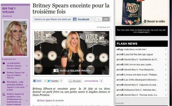 Britney enceinte :D