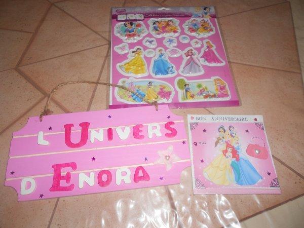 Cadeaux pour Enora