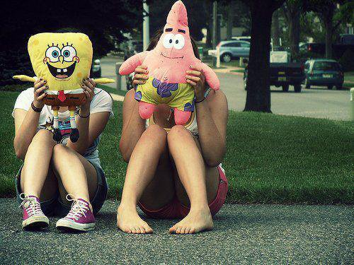 Jamais Bob sans Patrick..<3