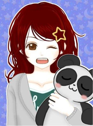 Ayame en mode chibi pijama