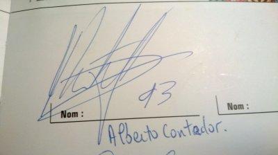 Un héros, un combattant : Alberto Contador