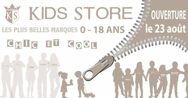 Kids Store Tours Boutique de Prêt à Porter chic Enfants grandes marques Ralph Lauren, Kenzo Kids, Lili Gaufrette, Timberland, Boss, ...